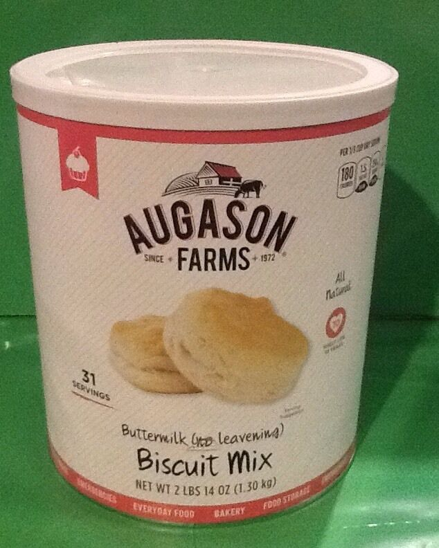 Augason Farms Buttermilk Biscuit Mix Emergency Prepper Survival Camping