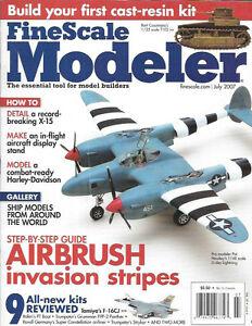 Fine-Scale-Modeler-July-07-X-15-T1E2-Tank-Harley-Davidson-Lockheed-Lightning