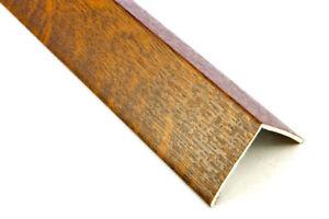 Upvc Plastic Rigid Angle Corner Sherwood Golden Oak Foil