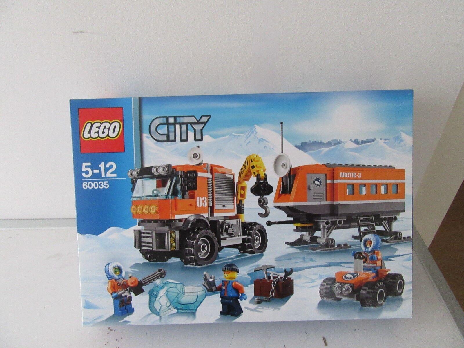 LEGO ®  City. 60035    Arctie Voorpost e97cd5