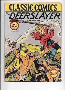 Classic-Comics-17-The-Deerslayer-January-1944-original-edition