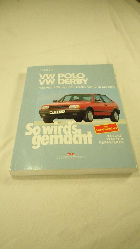 Reparationshåndbog, VW Polo 1981-1994