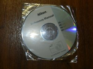 New Nikon OEM Genuine CD with User's Guide Instructions Manual for Coolpix S6200
