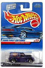 2000 Hot Wheels #77 First Edition Anglia Panel Truck full crd