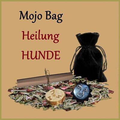 Mojo Bag Heilung Für Hunde Zauberbeutel Hexenbeutel Gesundheit Inklusive Ritual