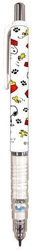 Snoopy 0.5mm DelGuard Mechanical Pencils ES080A dogdish
