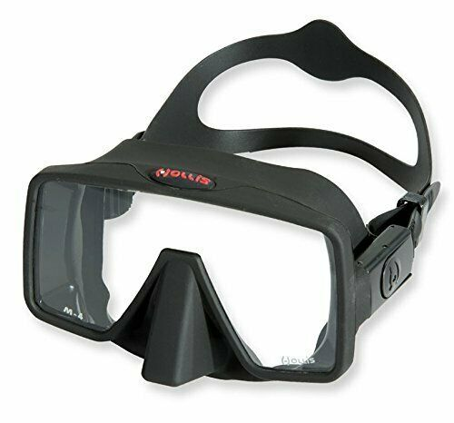 Comfortable & Easy to Adjust Frameless Diving Mask w Extra Clear Lens