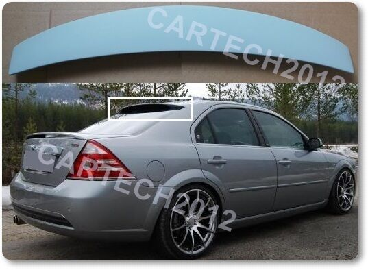 Ford Mondeo MK3 Sedan Rear Window & Boot Spoiler, tuning