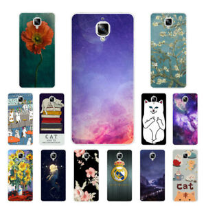 newest ecee3 a9960 Soft TPU Silicone Case For Oneplus 2 3 3T 5 5T Protective Back Cover ...