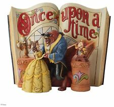 Disney Traditions Love Endures Beauty And The Beast Book Resin Figurine Gift Box
