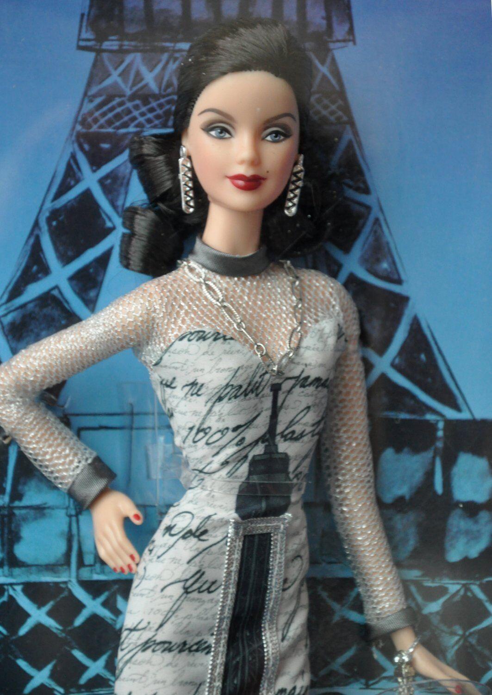 Muñeca Barbie Del Mundo Landmark Colección Torre Eiffel-Envío Gratuito