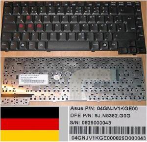 CLAVIER-QWERTZ-ALLEMAND-ASUS-A3V-A4-A3H-R20-A3G-9J-N5382-G0G-04GNJV1KGE00-Noir
