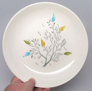 Image is loading Vintage-Ovenproof-Dinnerware-Handpainted-Gray-Branch-with- Leaves- : leaves dinnerware - pezcame.com