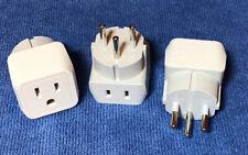 Watson Adapter Plug BS 546 3-Prong USA to 3-Prong M Type
