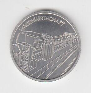 Medaille  DDR  Eisenbahn   Reichsbahndirektion Halle   Wagenwirtschaft