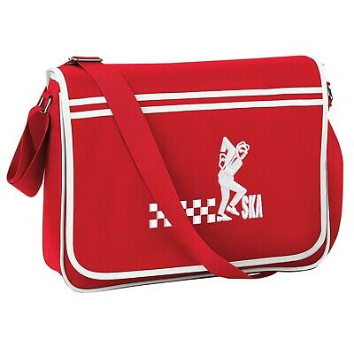Ska Man Retro Bowling Bag With Embroidered Logo Mod Retro Ska Two Tone