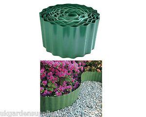 90mm-Durable-Plastic-Lawn-Edging-Border-Flower-Edging-Flower-Border-Edge
