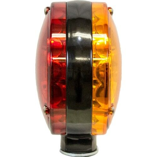 Combine LED Double-Sided Flashing Light amber red Windrower John Deere Tractor