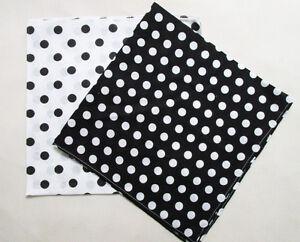Fashion-Polka-Dot-Cotton-Bandanas-Headwear-Hair-Band-Scarf-Neck-Handkerchief