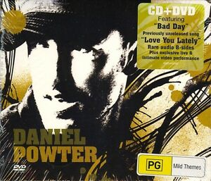 Daniel-Powter-Daniel-Powter-2006-CD-DVD-NEW-SEALED-Digipak-SPEEDYPOST