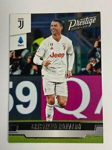2020 Panini Chronicles soccer-Prestige Soccer card 242-cristiano ronaldo