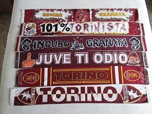 alta qualità calzature vendita scontata Dettagli su lotto 6 sciarpe TORINO FC club football calcio scarf bufanda  echarpe schal lot b
