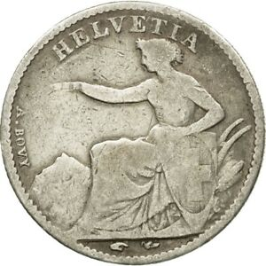 439169-Coin-Switzerland-1-2-Franc-1850-Bern-VF-20-25-Silver-KM-8