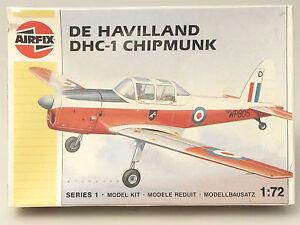 PRL-DE-HAVILLAND-DHC-1-CHIPMUNK-MAQUETTE-MODEL-1-72-AEREO-AVION-PLANE-AIRFIX-88