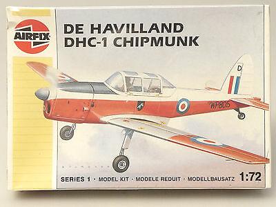 Prl) De Havilland Dhc-1 Chipmunk Maquette Model 1:72 Aereo Avion Plane Airfix 88 Nuove Varietà Sono Introdotte Una Dopo L'Altra