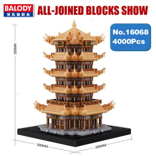 Balody Building Blocks Building Architecture Tower Yellow Crane Diamond Building