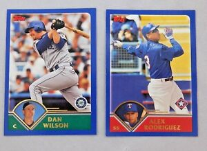 Details About 2003 Topps Baseball Card Pick One Complete Your Set 1 To 185
