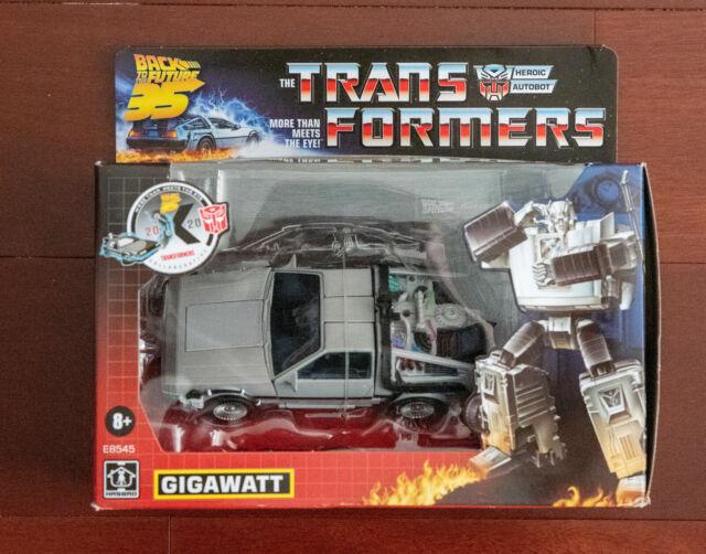 Transformers Generations Collaborative: Back to the Future Mash-Up Gigawatt READ