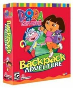 Dora-the-Explorer-Backpack-Adventure-Problem-Solving-Games-New-in-Retail-Box