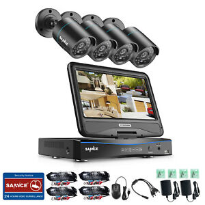 SANNCE-4CH-1080N-DVR-LCD-Monitor-1500TVL-Outdoor-IR-Home-Security-Camera-System