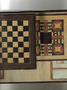 VINTAGE-GAME-BOARDS-WALLPAPER-BORDER-30992910