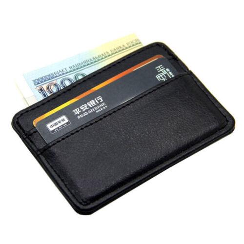 Fashion Top Qualité Slim Case Sac Porte-carte Bank carte de crédit ID Argent