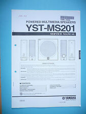 Service Manual for Yamaha YST-MS201 by long