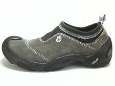 TEVA SPORT Womens SHOES 6034 Hiking Water Brown Suede Slip On US 5 UK 3.5 EUR 36
