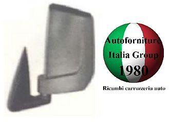 SPECCHIO SPECCHIETTO RETROVISORE SX MANUALE NERO PIAGGIO PORTER 10/> 2010/>