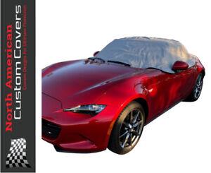Mazda Miata MX5 Mk4 Soft Top Roof Protector Half Cover - 2015 to 2018 {262G}