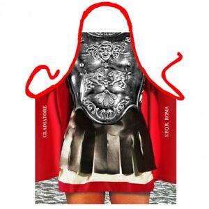Gladiator - Itati lustige Grillschürze, Küchenschürze, Kochschürze sexy Kämpfer