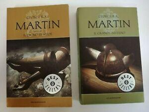 Trono di Spade + Grande inverno Cronache del ghiaccio e del fuoco - Martin