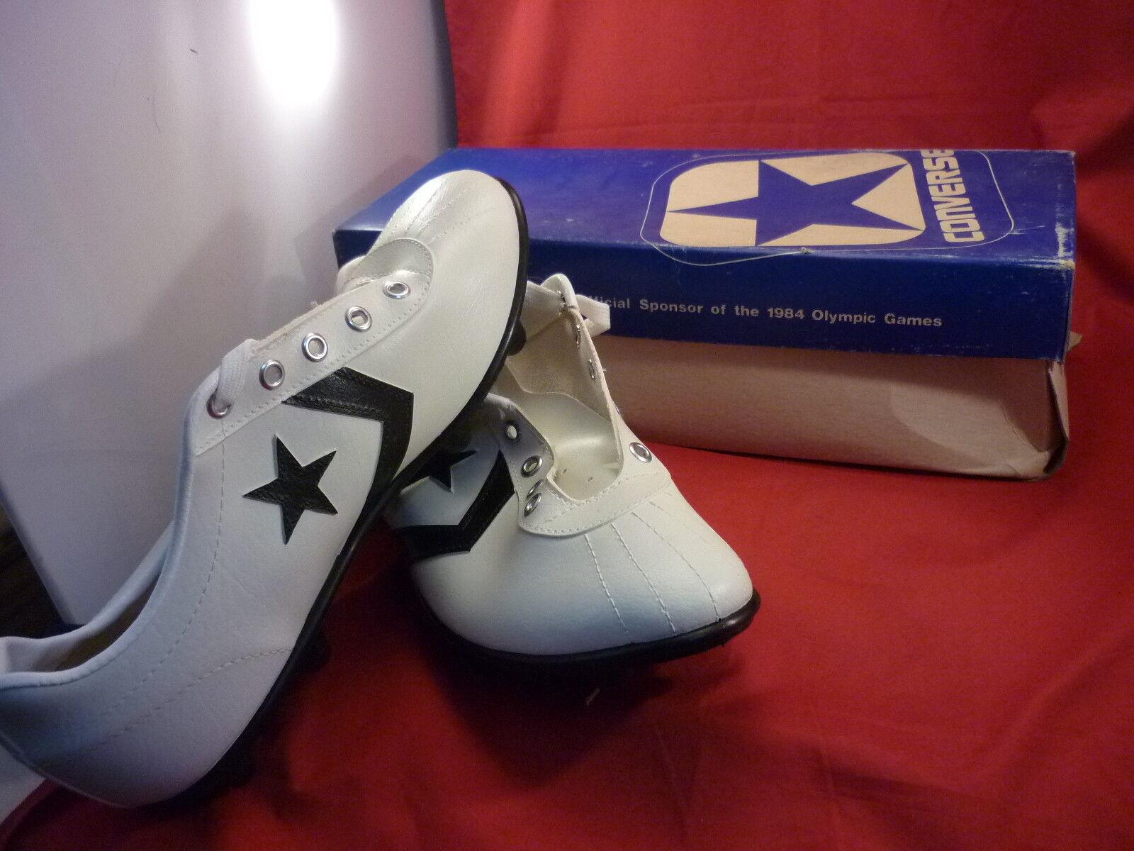 Converse Vintage Viejo Stock Fútbol Zapato Bronco Para hombre Oxford Talla 8.5 nos 18036