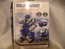 Do it yourself tech kit solar dinobot ages 8 assemble working do it yourself tech kit solar robot ages 8 assemble working robot 3 in 1 solutioingenieria Gallery