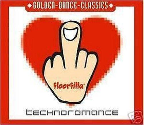 CD Florrfilla Technoromance Maxi-Cd Golden Dance Classic