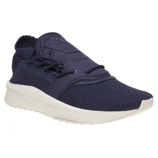 Nouveau Hommes PUMA bleu Tsugi SHINSEI Raw Nylon Baskets Jogging Chaussures