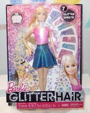 Barbie Glitter Hair Design Blonde Doll Mattel CLG18 NEW IN BOX!
