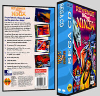 Revenge Of The Ninja - Sega Cd Reproduction Art Dvd Case No Game