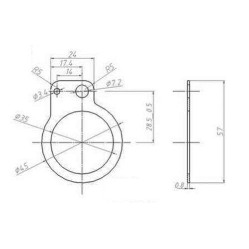 3-Draht Pedal Assistent Sensor Satz Tretlager Ersatz Für Elektrisch Fahrrad