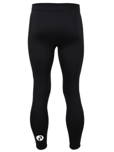 Neoprene Warm Sports MD Fleece Lined 3mm Mens Thermal Pants by TWO BARE FEET